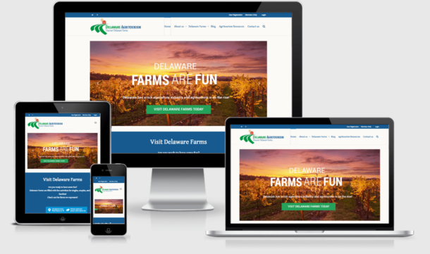 Visit Delaware Farms, Delaware Agritourism site by CIRJ Concepts, now Dapper Designs