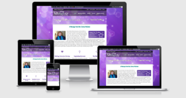 Angels Lite the Way website design by CIRJ Concepts
