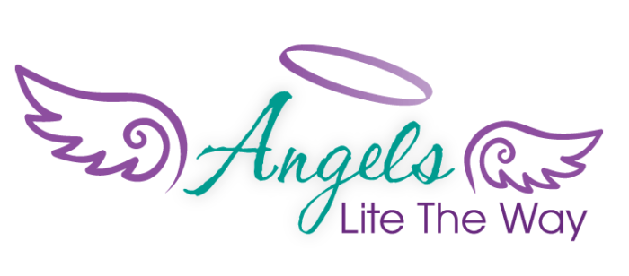 Angels Lite the Way logo design by CIRJ Concepts